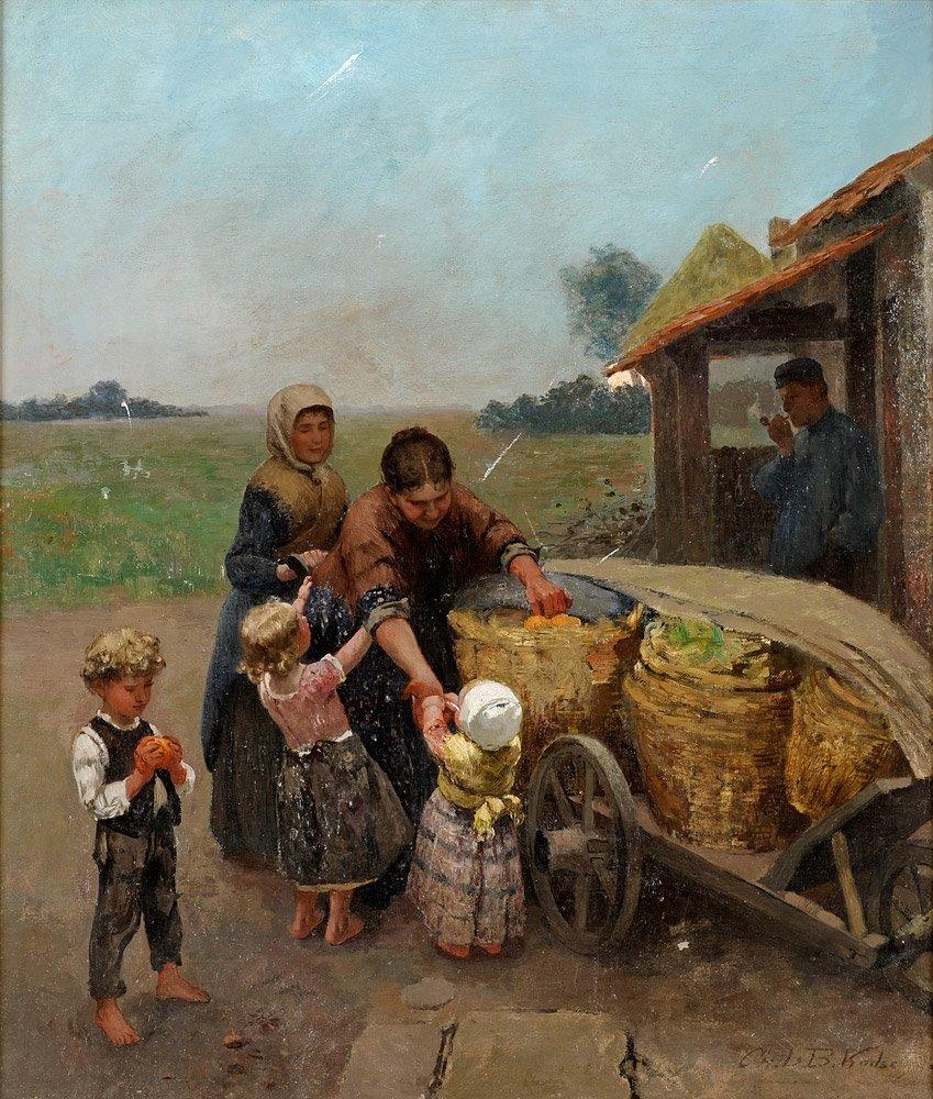 где находятся картины русских художников 19 века
