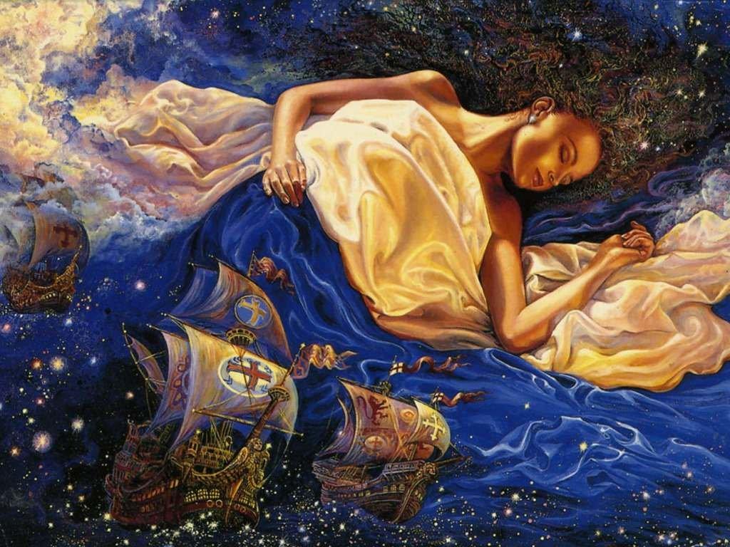 Если кто увидит во сне, что вокруг солнца находится темное облако — будет опечален и озабочен своими делами.