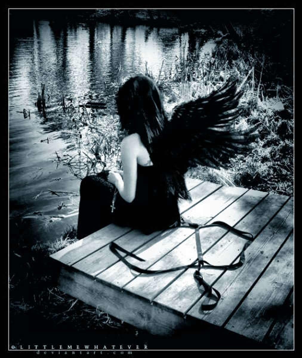 Картинка с надписью одинокая душа