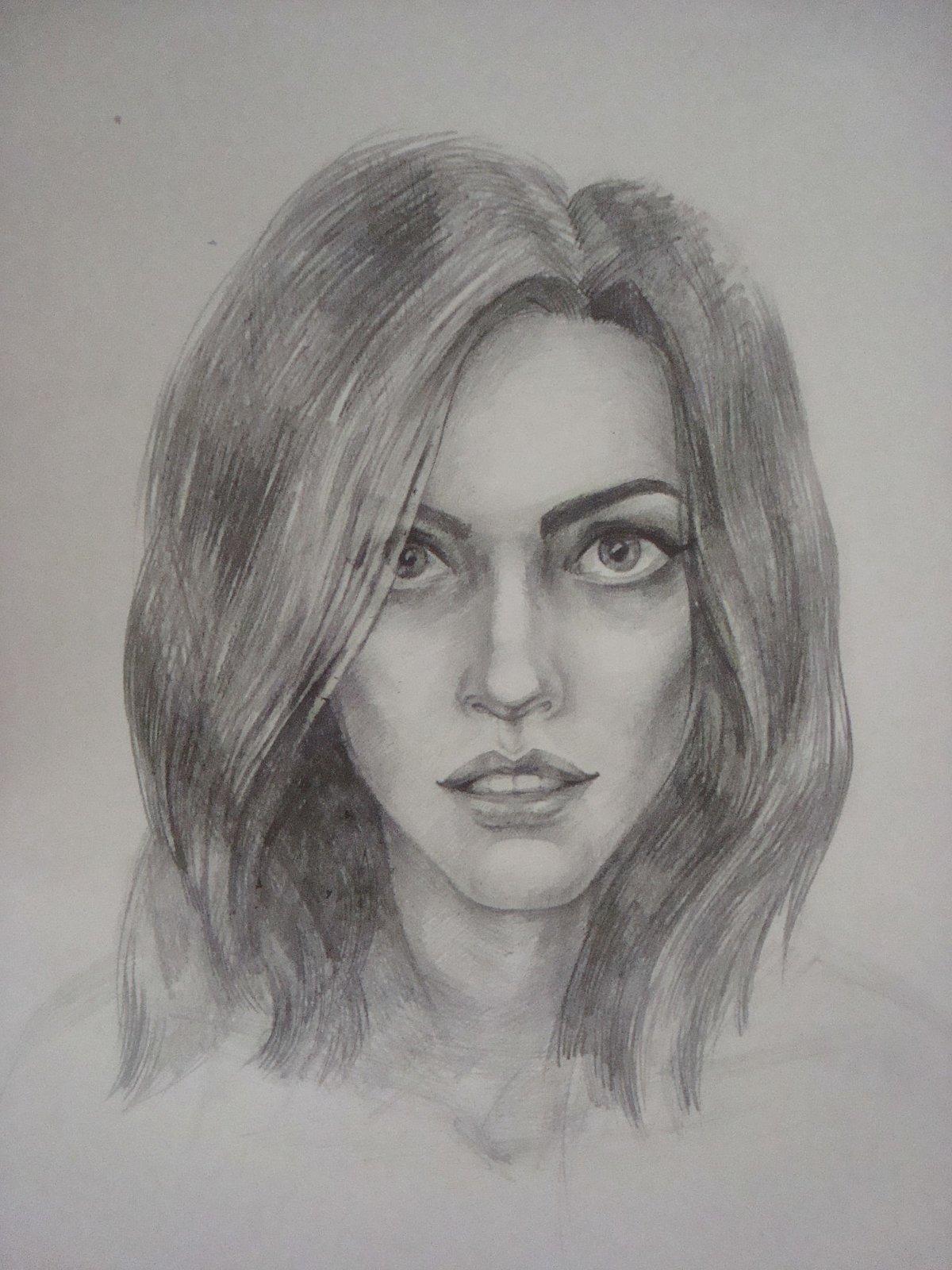 Картинки человека нарисованный карандашом