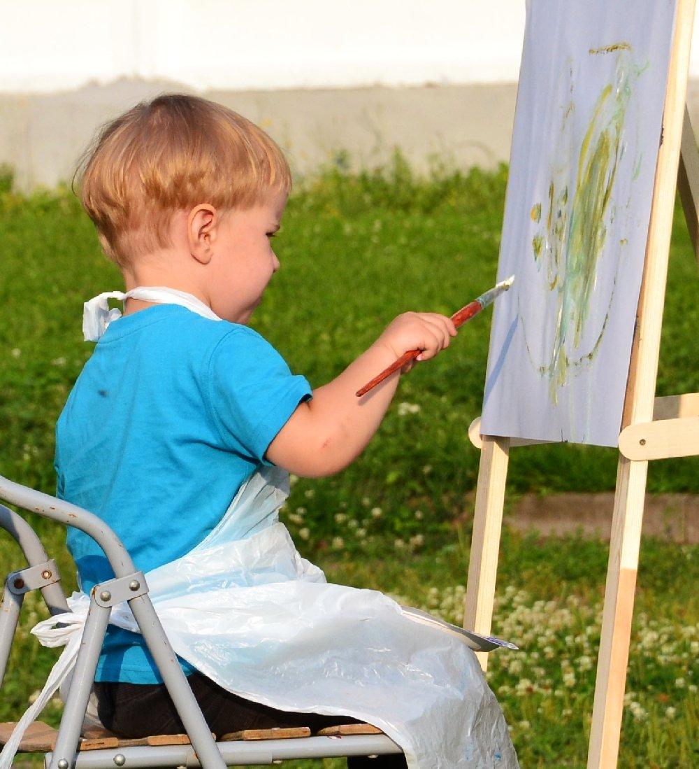 картинки рисующих малышей заказала сухие цветы
