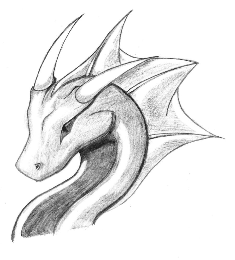 Картинки рисуем драконов