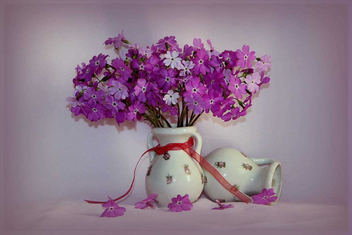 Красивые открытки цветов в вазе
