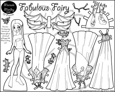 Паперові ляльки Бумажные куклы  Paper Dolls s photos Paper Dolls to ... 61754aae7b48b