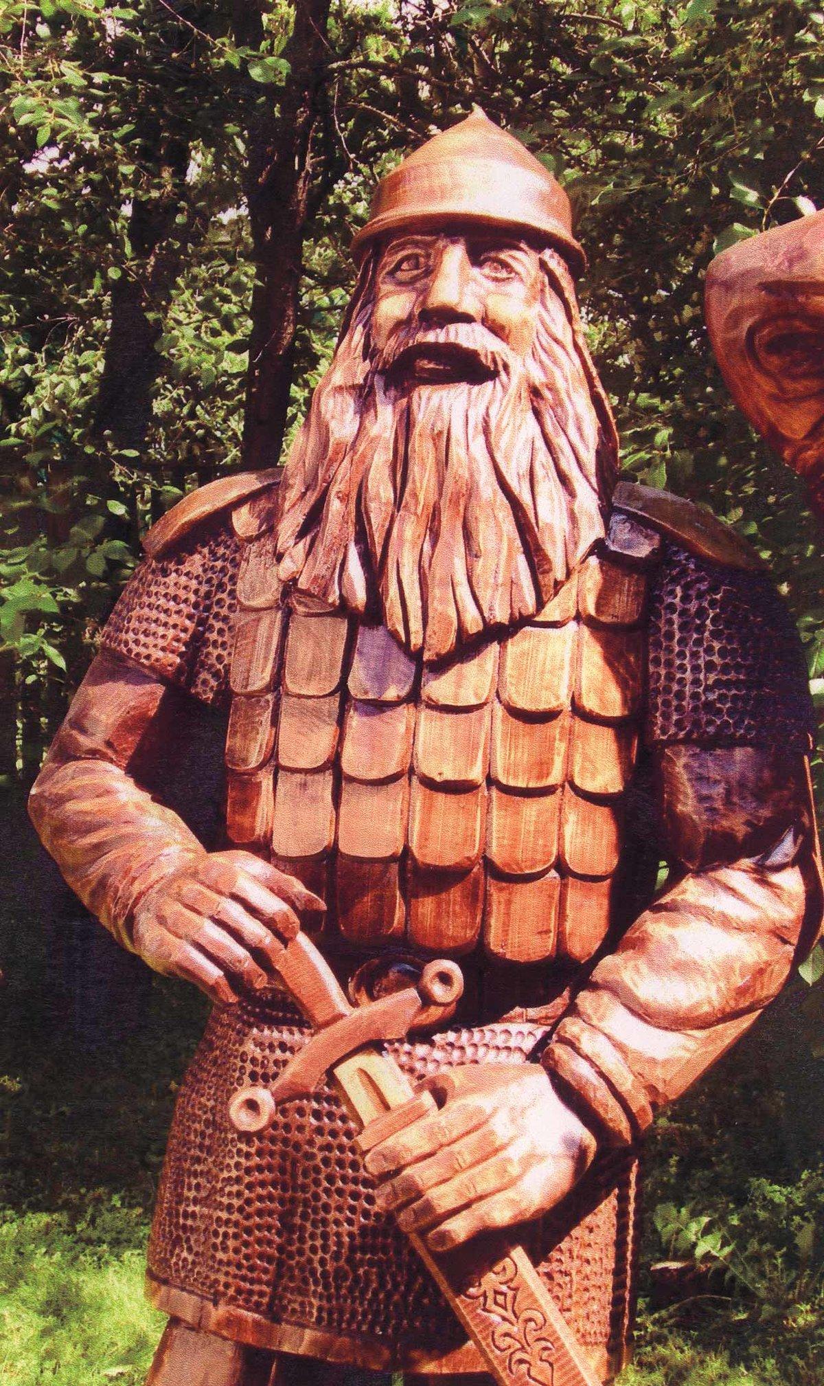 фигуры воинов фото деревянных гласит