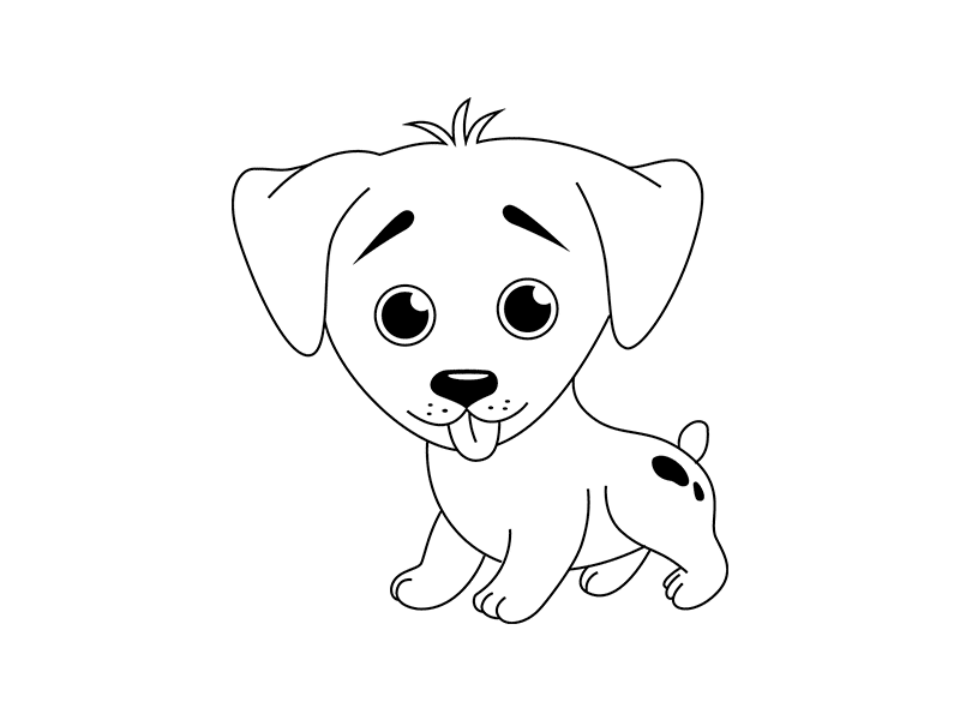Картинки собаки нарисованные, здравствуйте
