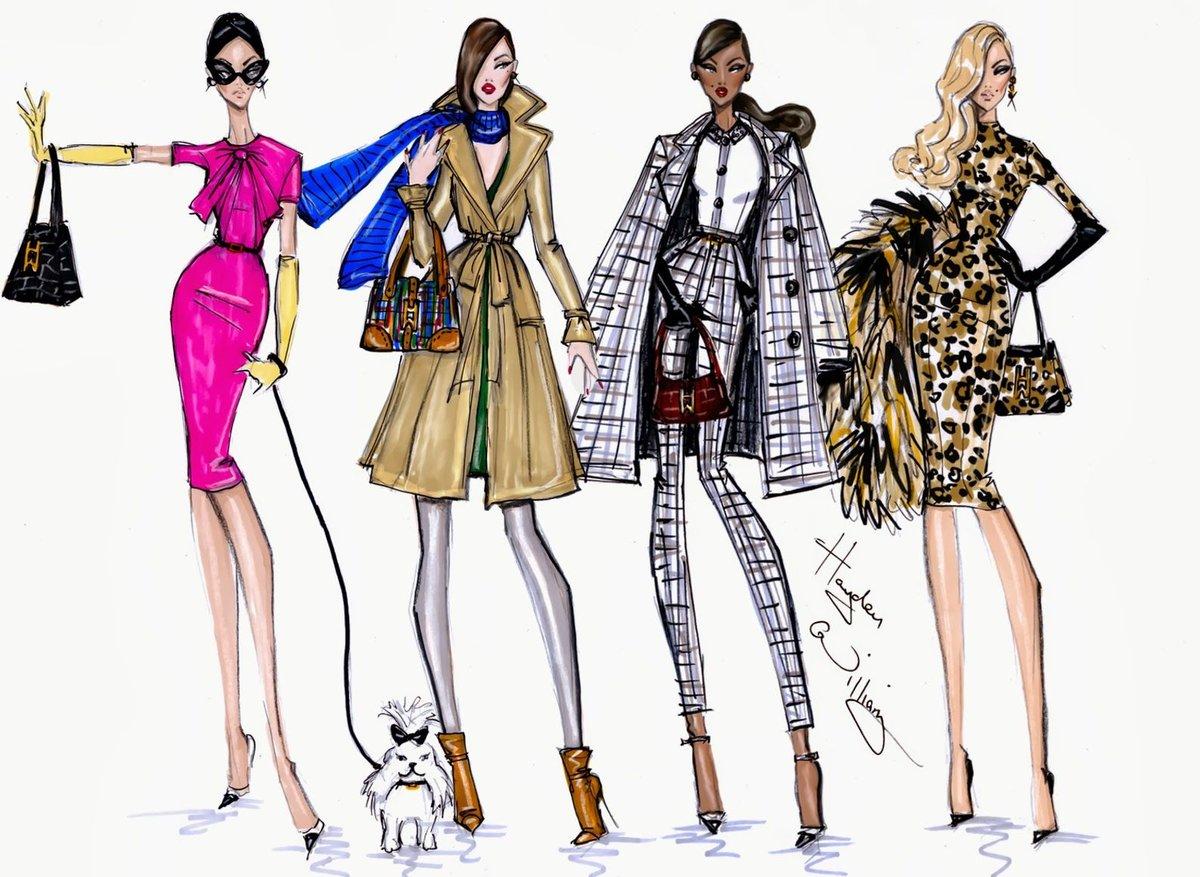 Картинки дизайнеров рисунки модной одежды