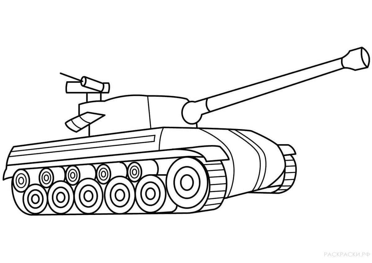 картинки для рисования танк карта