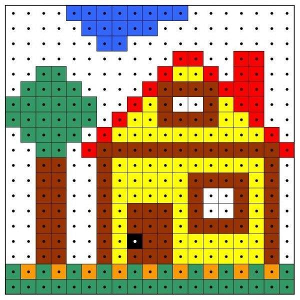 Картинки сделанные из квадратиков