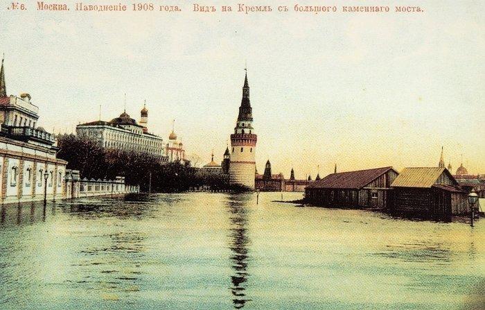 23 апреля 1908 г. В Москве началось одно из самых больших наводнений в истории города