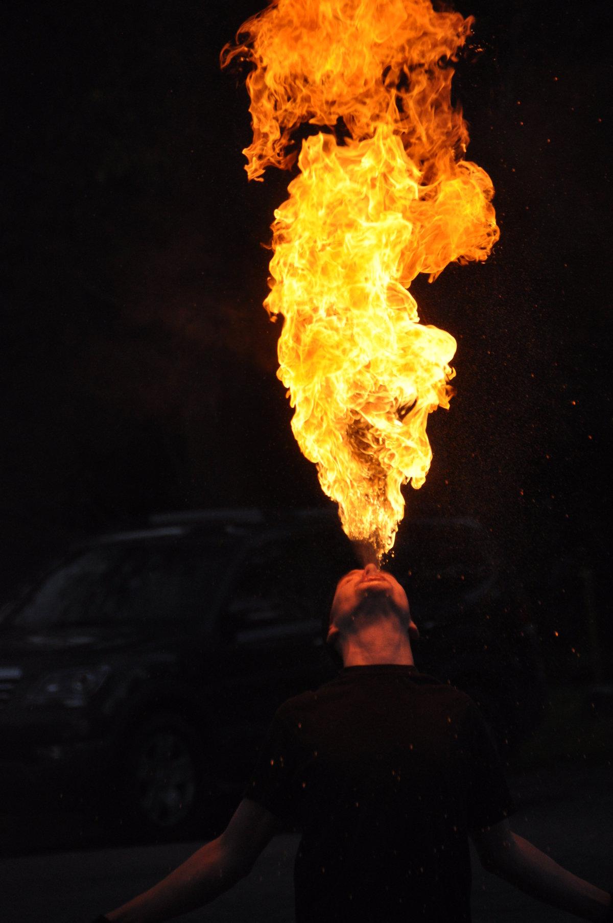 Картинки с человека в огне