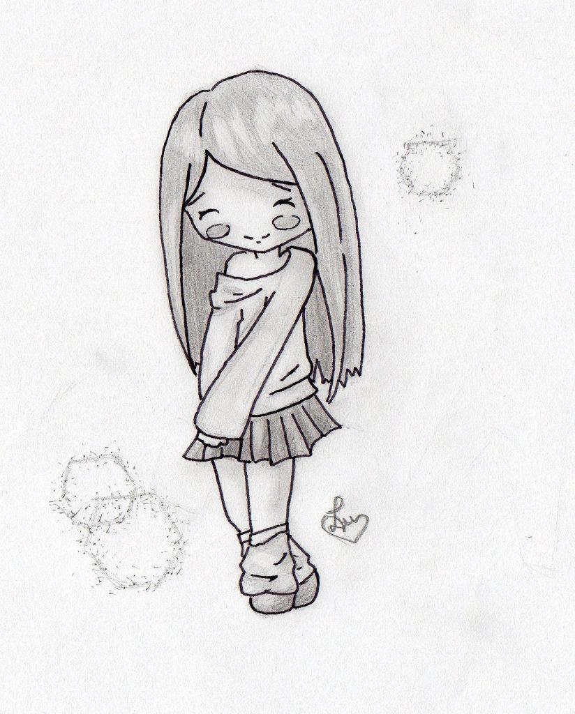 Картинки для срисовывания карандашом легкие