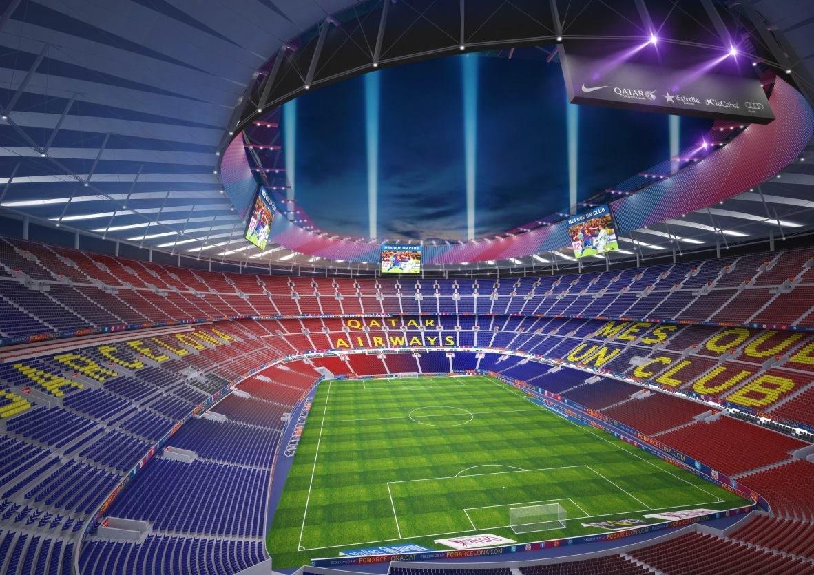Картинки стадион барселоны