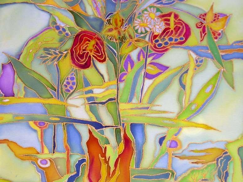 смотреть картинки для батика она красивая