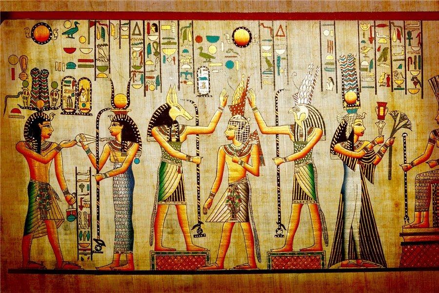 Картинки с изображением богов египта
