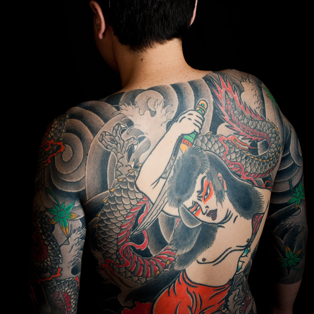 japanese tattoos irezumi meaning and history with pictures - 1000×1000