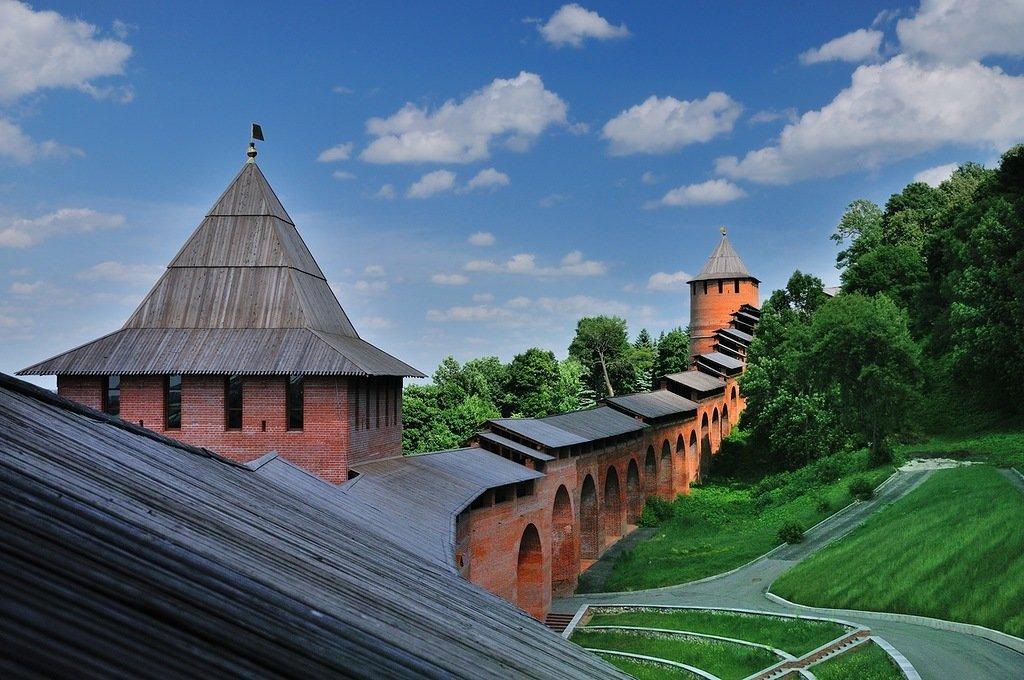 Картинки нижегородского кремля, шишки открытка скучай