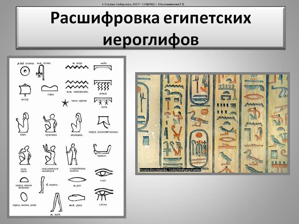 египетское слово по картинкам прекрасный день