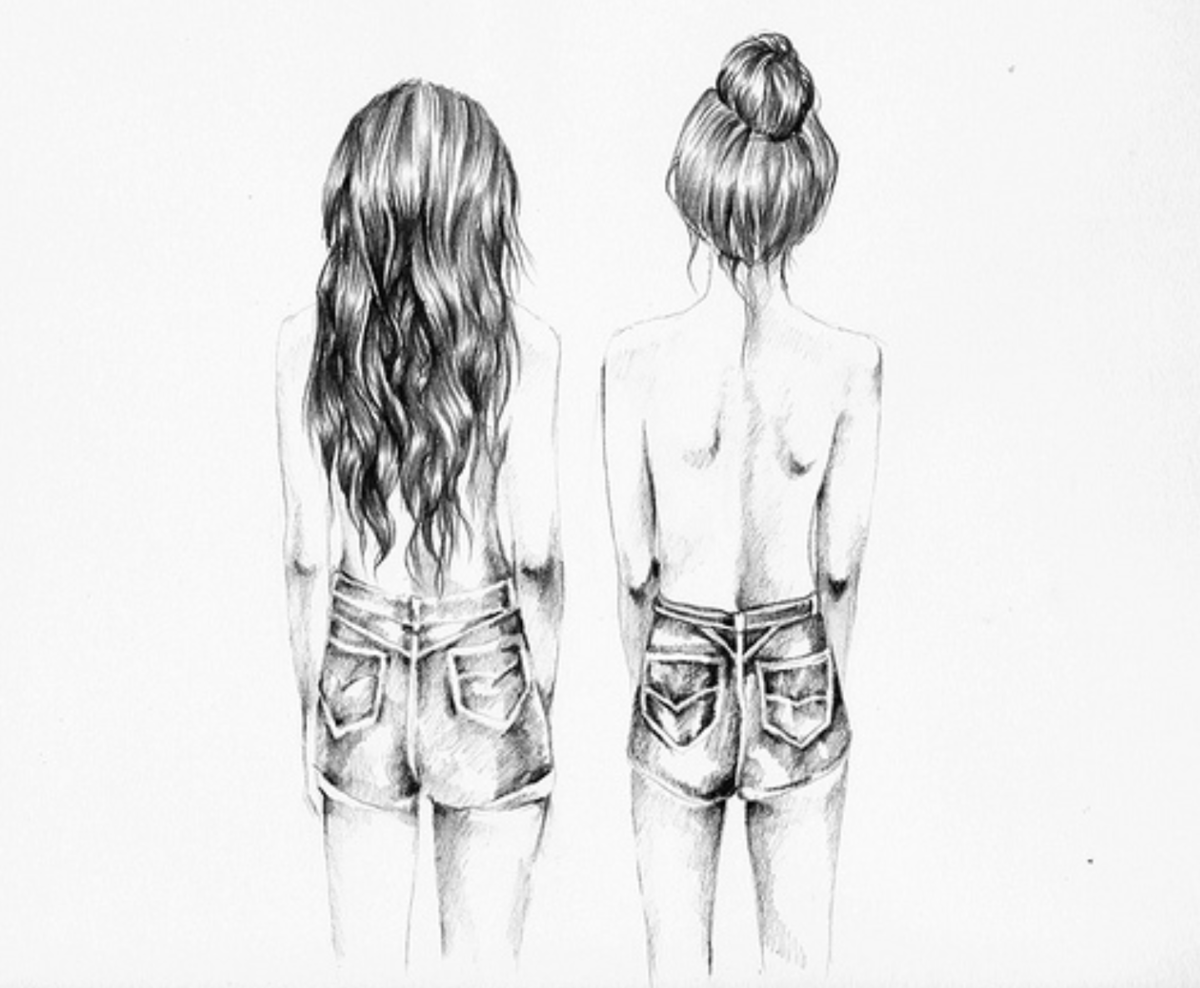 Cute Easy Drawings For Best Friends Www Galleryhip Com The Hippest