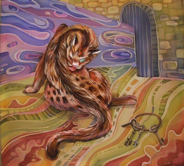 Картинки батиком животные, днем