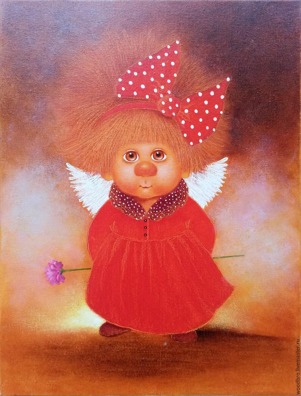 Открытки для, рисунки прикольных ангелов