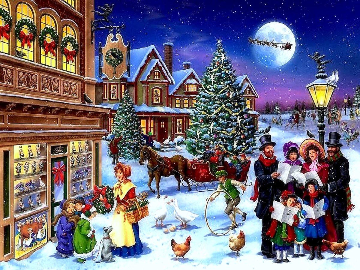 Рождество в россии картинки для детей