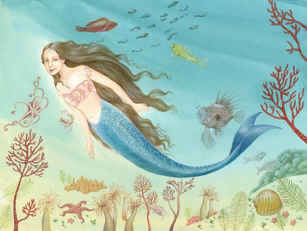 Сказки о русалках с картинками
