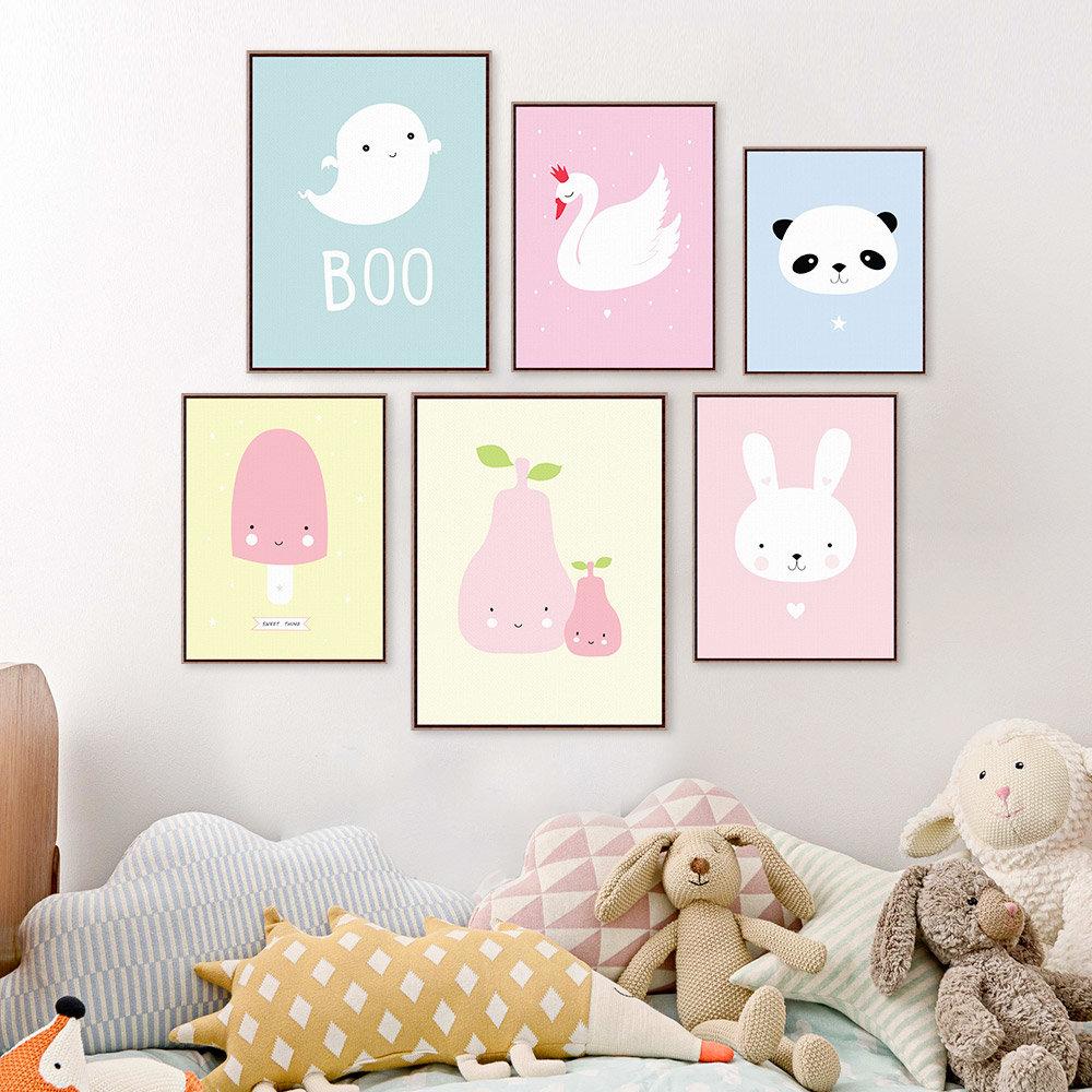 Милые картинки на стену в комнате