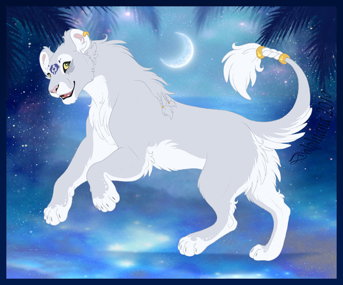 Anime White Lioness Wwwpixsharkcom Images Galleries With Card