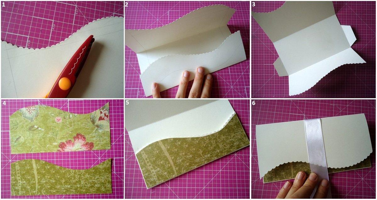 Как самой сделать открытку для денег своими руками