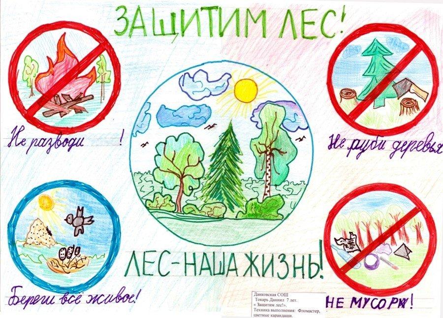 Картинки плакаты в защиту природы