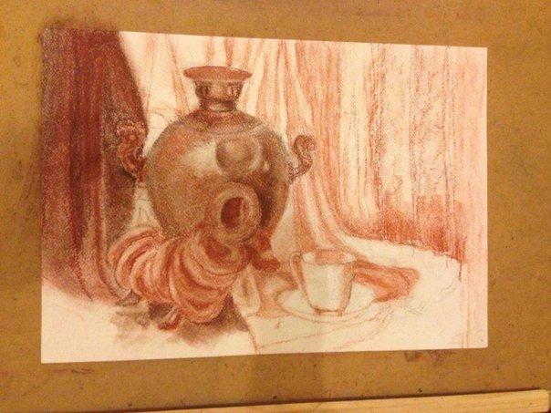 прошлый раз натюрморт сепией сангиной фото попавших под уголовное