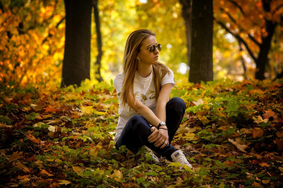 Фотосессия на природе фото осень