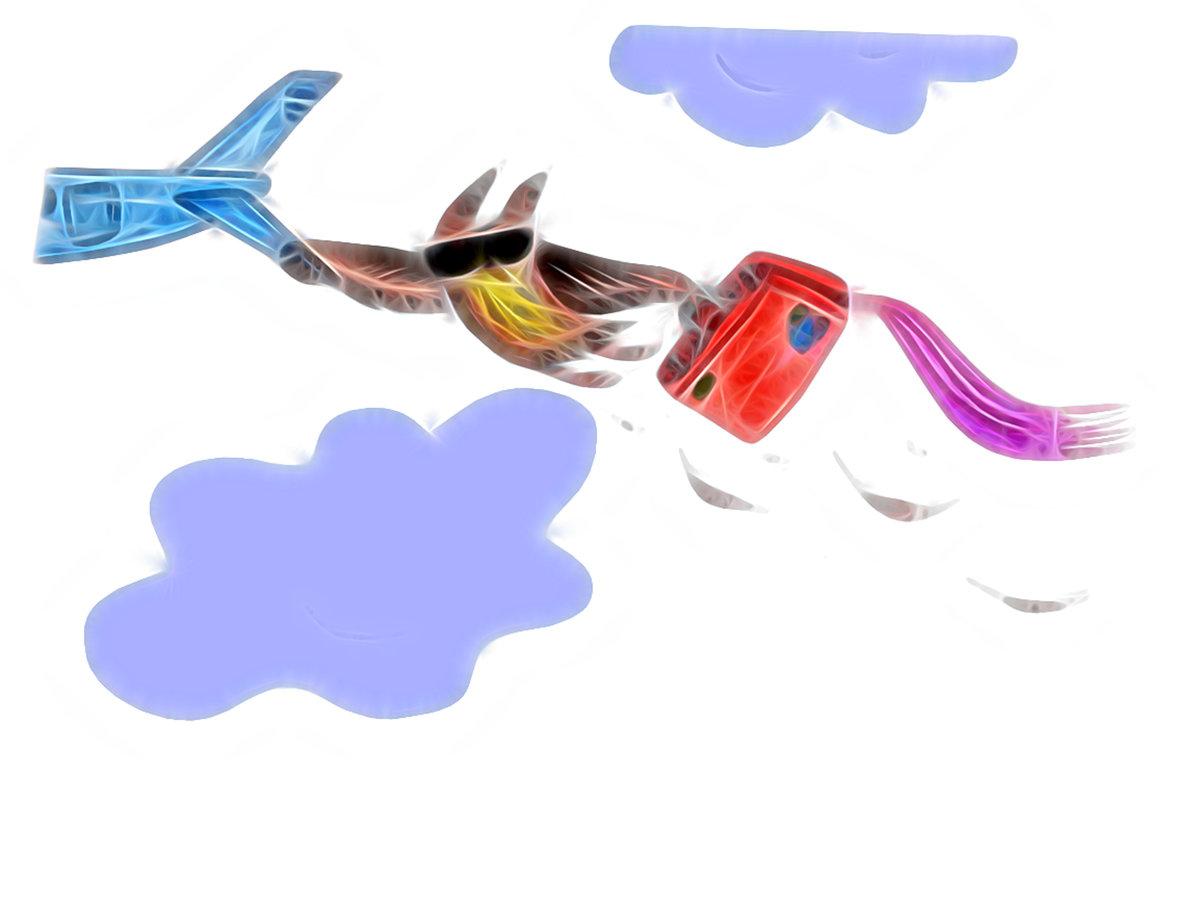 Красивые открытки бесплатно для вас, Beautiful postcards are free for you, p_i_r_a_n_y_a Сова Ульяна полетела в отпуск (белый фон)
