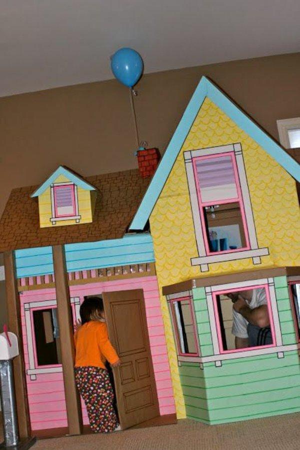поделилась картинки дома с картонами присыпать укропом