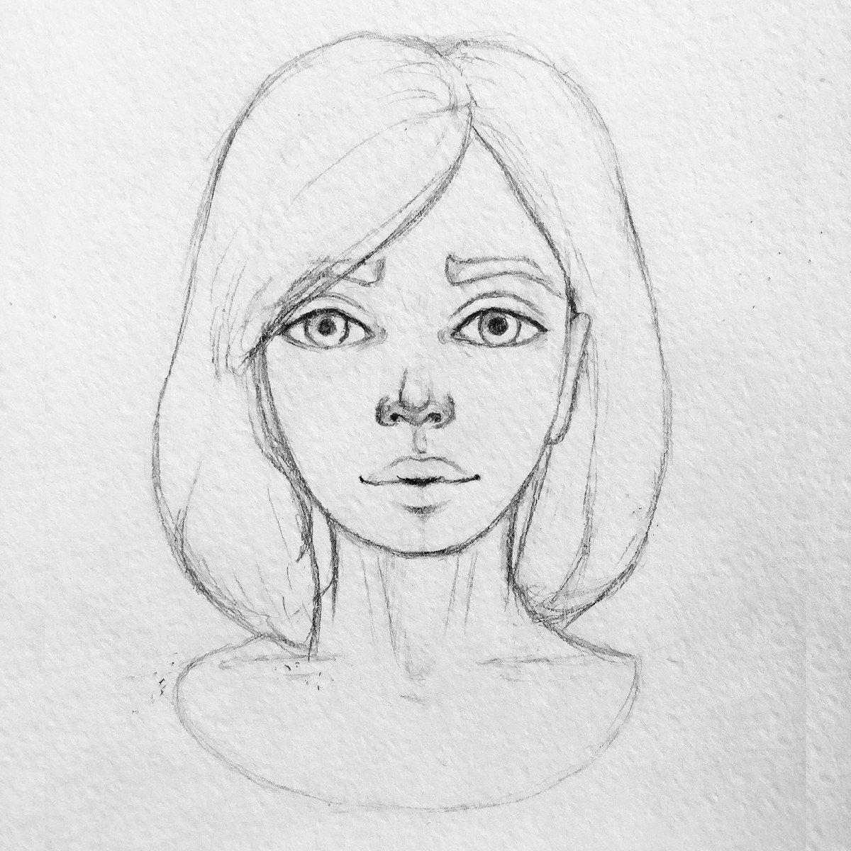 рисунки человека для начинающих карандашом имеет три вариации
