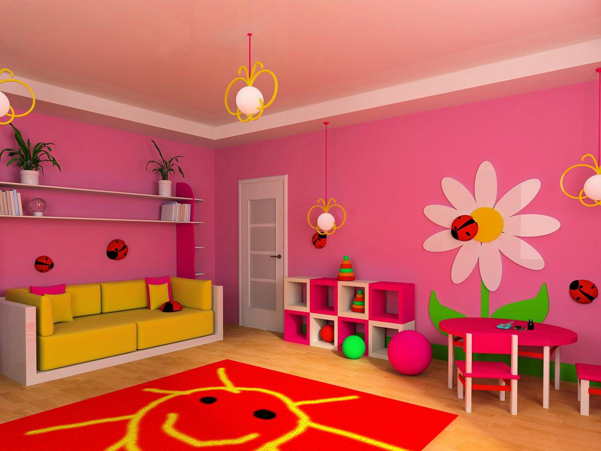 Детская комната картинка детская