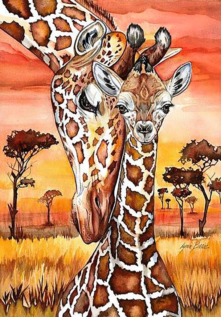 Африканские картинки нарисованные, лет