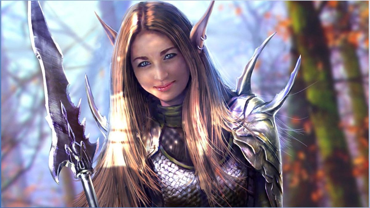 """fantasy warrior women wallpaper (78+ images)"""" — card from user"""