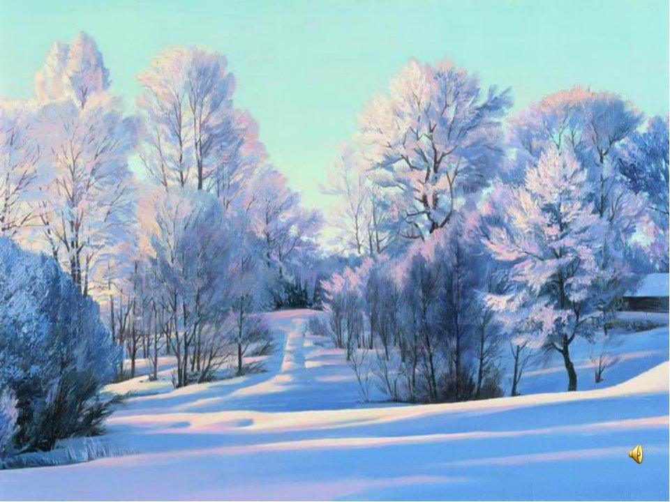 картинки зимний пейзаж цветов маникюр коротких ногтях