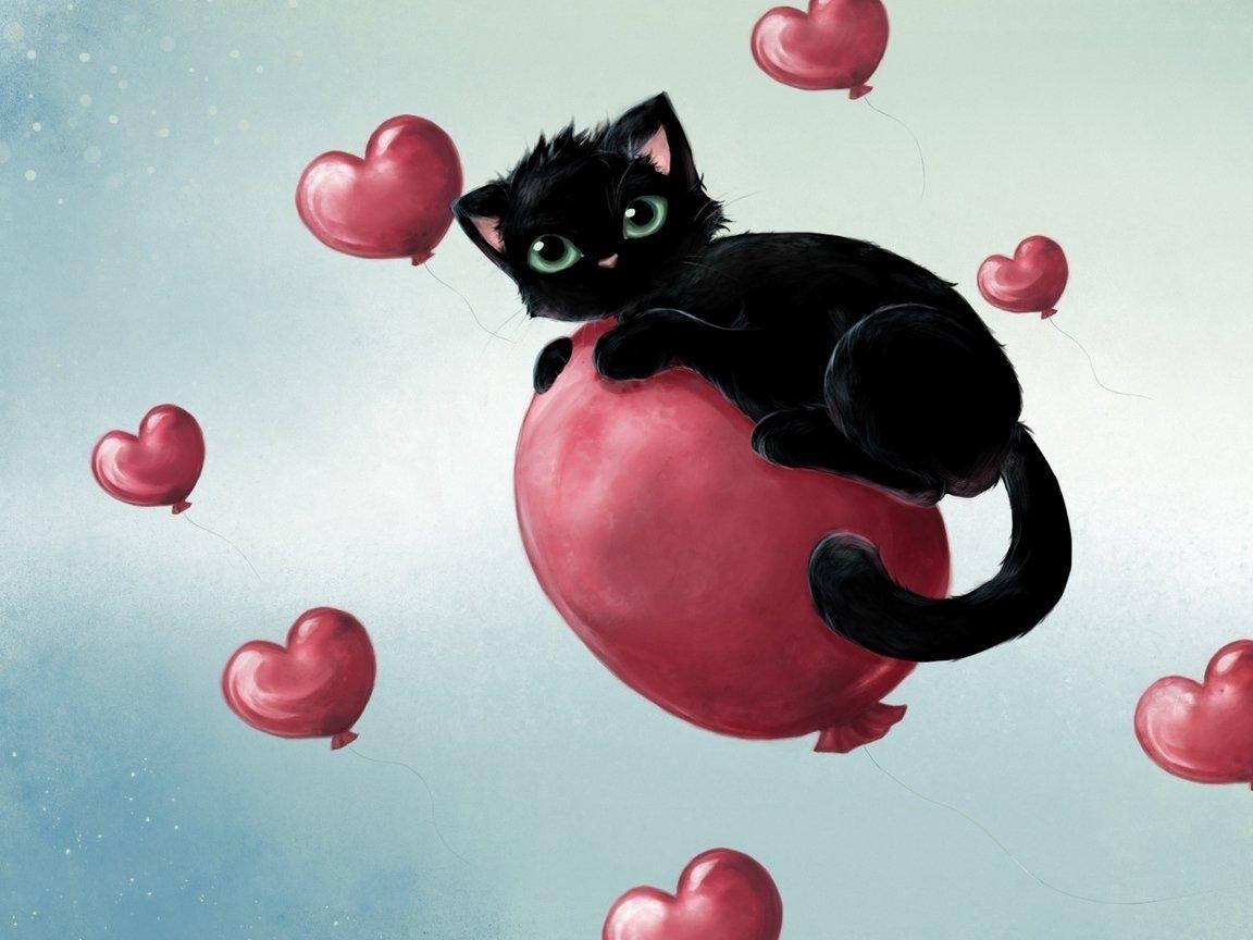 Животные картинки с надписями о любви, новогодняя открытка