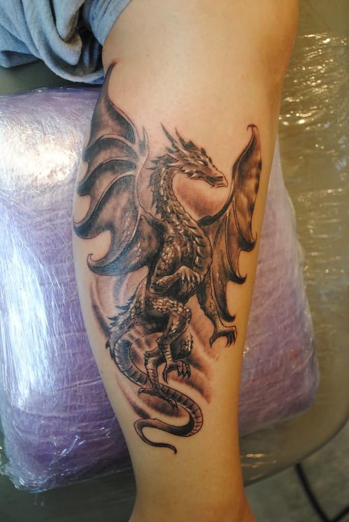будь картинки татуировок драконов на ноге высоким волнам восточного