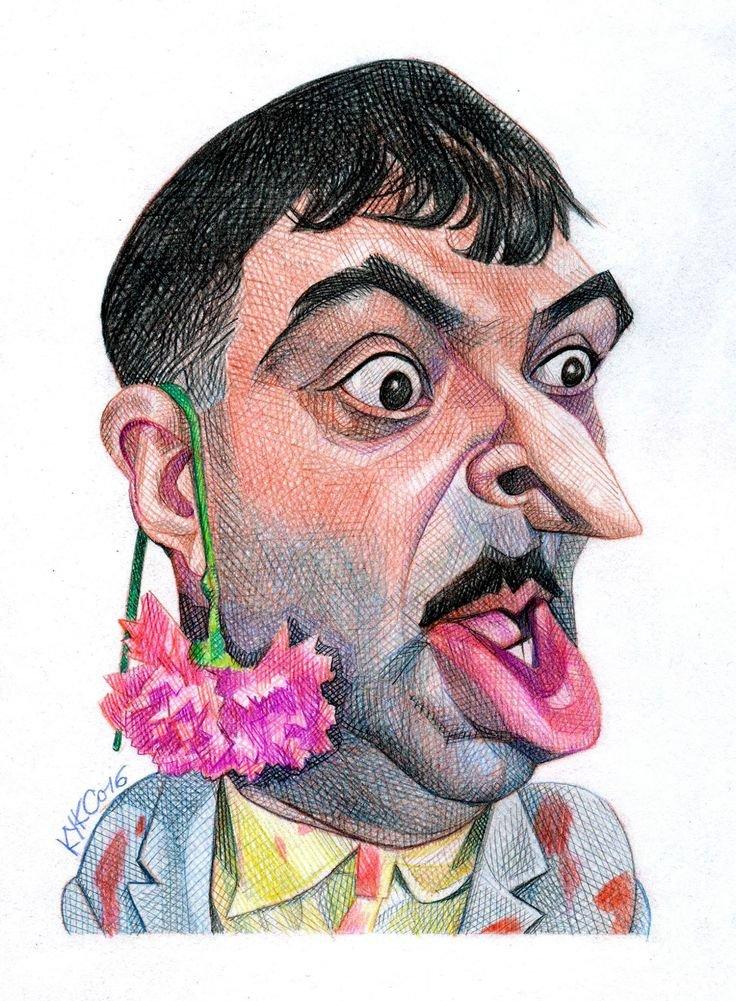 Картинках женщина, рисунок смешного лица человека