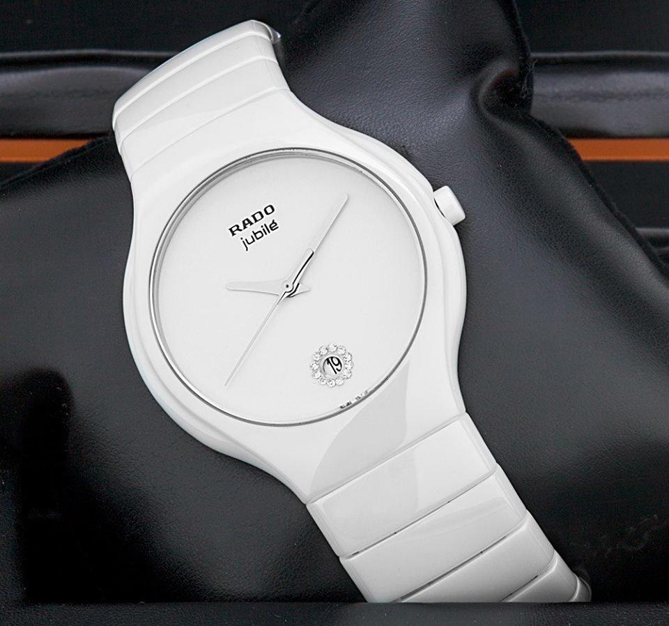 Rado integral jubile white артикул  у нас можно купить копии часов rado с различным набором функций, часы могут показывать не только время, но и дату.