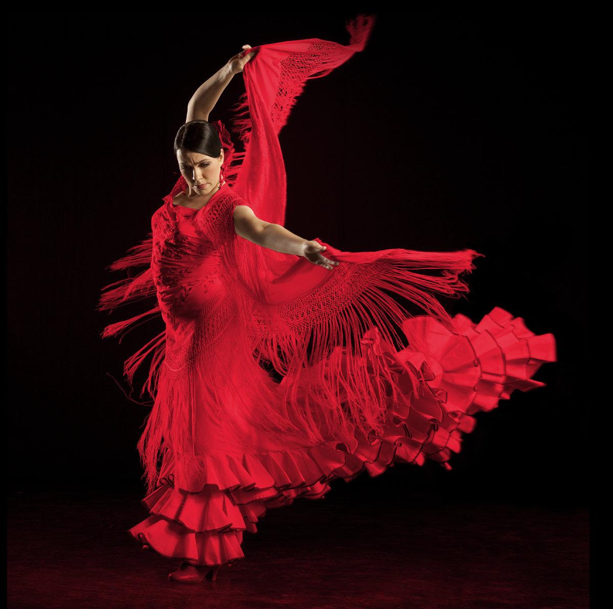 танцовщица фламенко фото