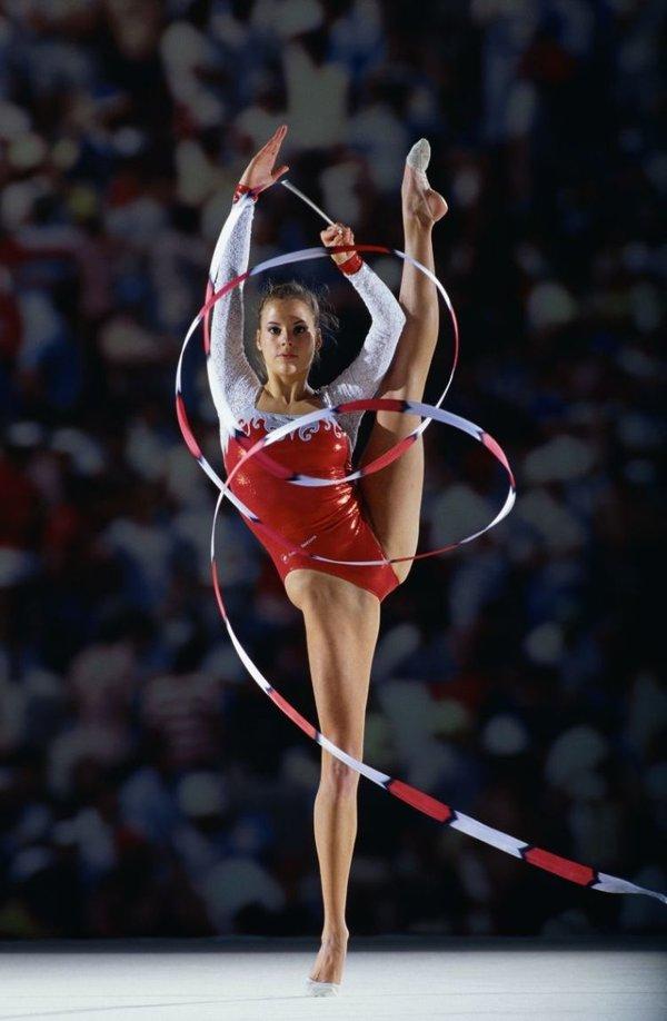 как гимнастки любят показывать хоть