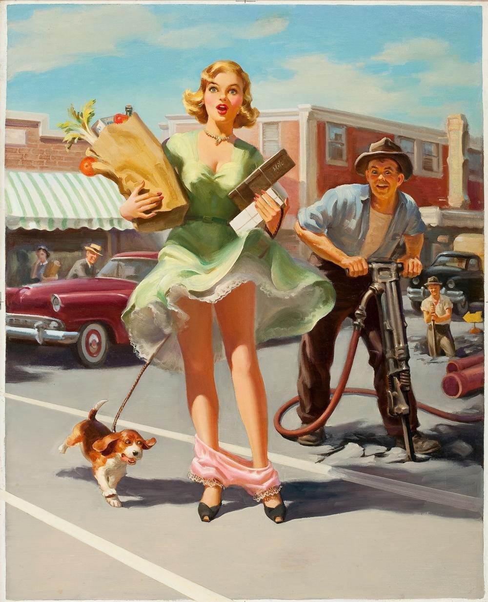Смешные открытки женщины