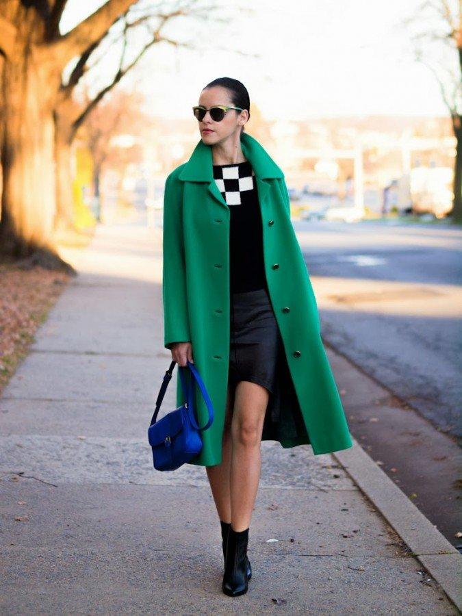 первую очередь с чем носить бледно зеленое пальто фото дружба