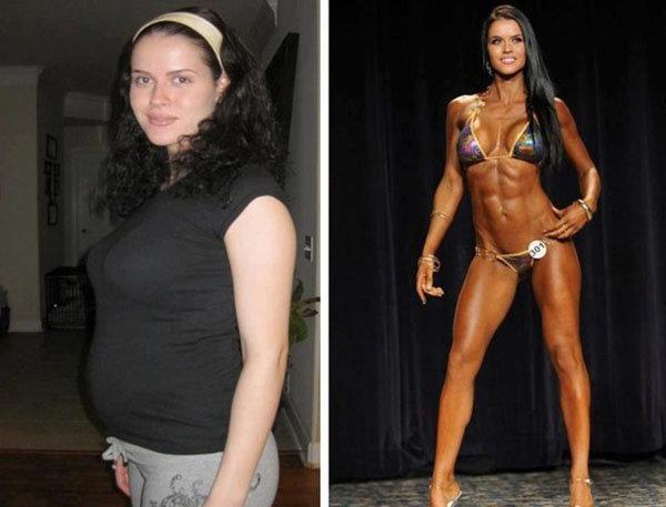 Тренажерный зал мотивация фото до и после