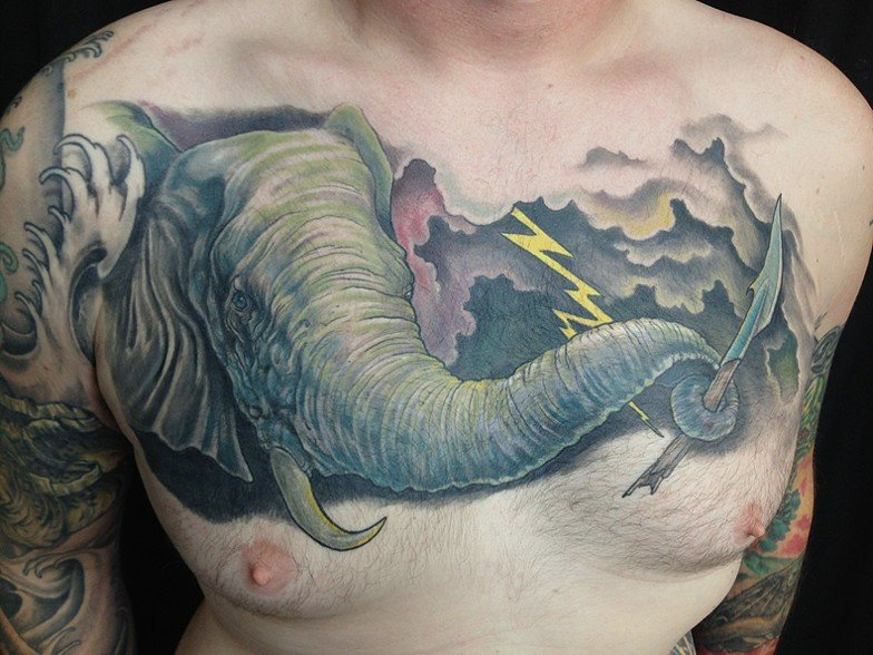 By Eric Henry At Angry Elephant Tattoo In Valrico Florida